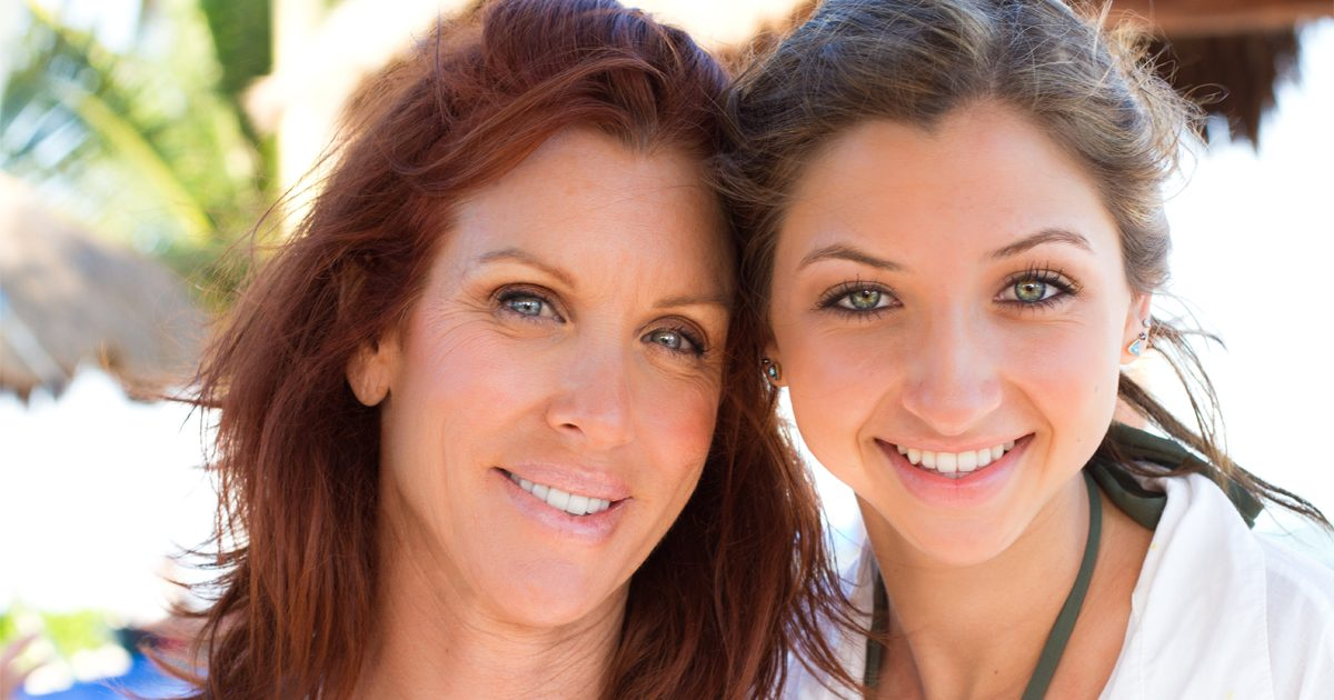 Woman and daughter get teeth straightened with Invisalign
