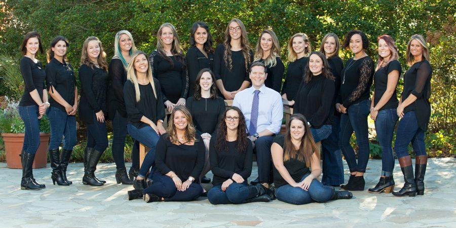 The talented team that run Blue Ridge Orthodontics in Asheville