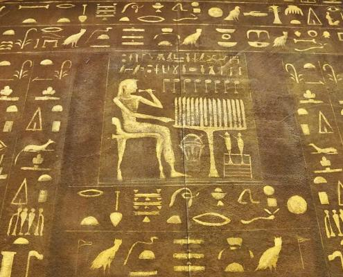 Hieroglyphics have helped trace history of braces