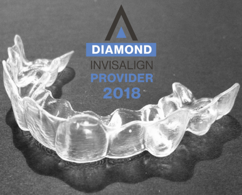 Invisalign aligner sent to a patient in Hendersonville, NC