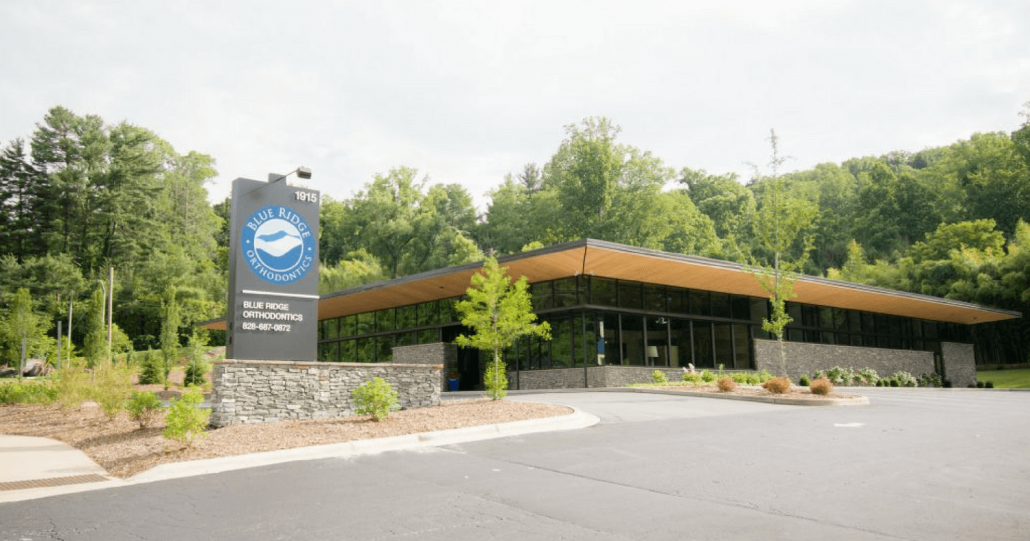 Picture of Blue Ridge Orthodontics Headquarters in Asheville
