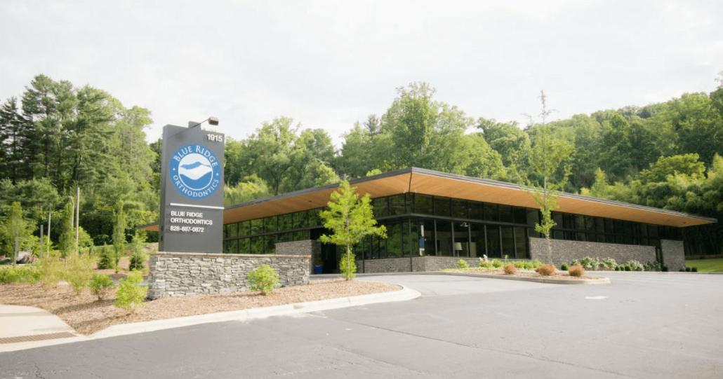 Picture of Blue Ridge Orthodontics Headquarters in Asheville