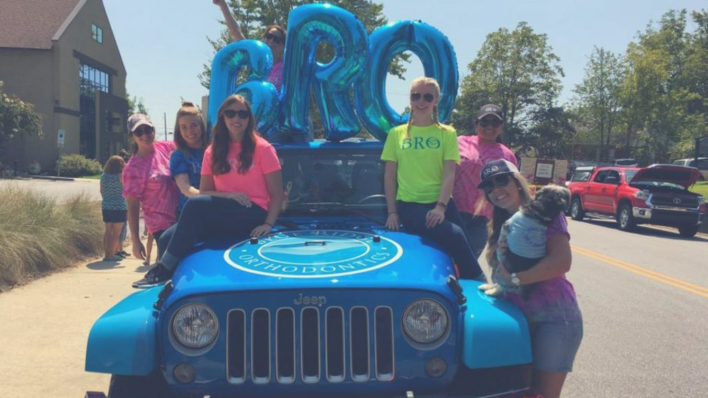 BRO staff take part in community parade in Asehville