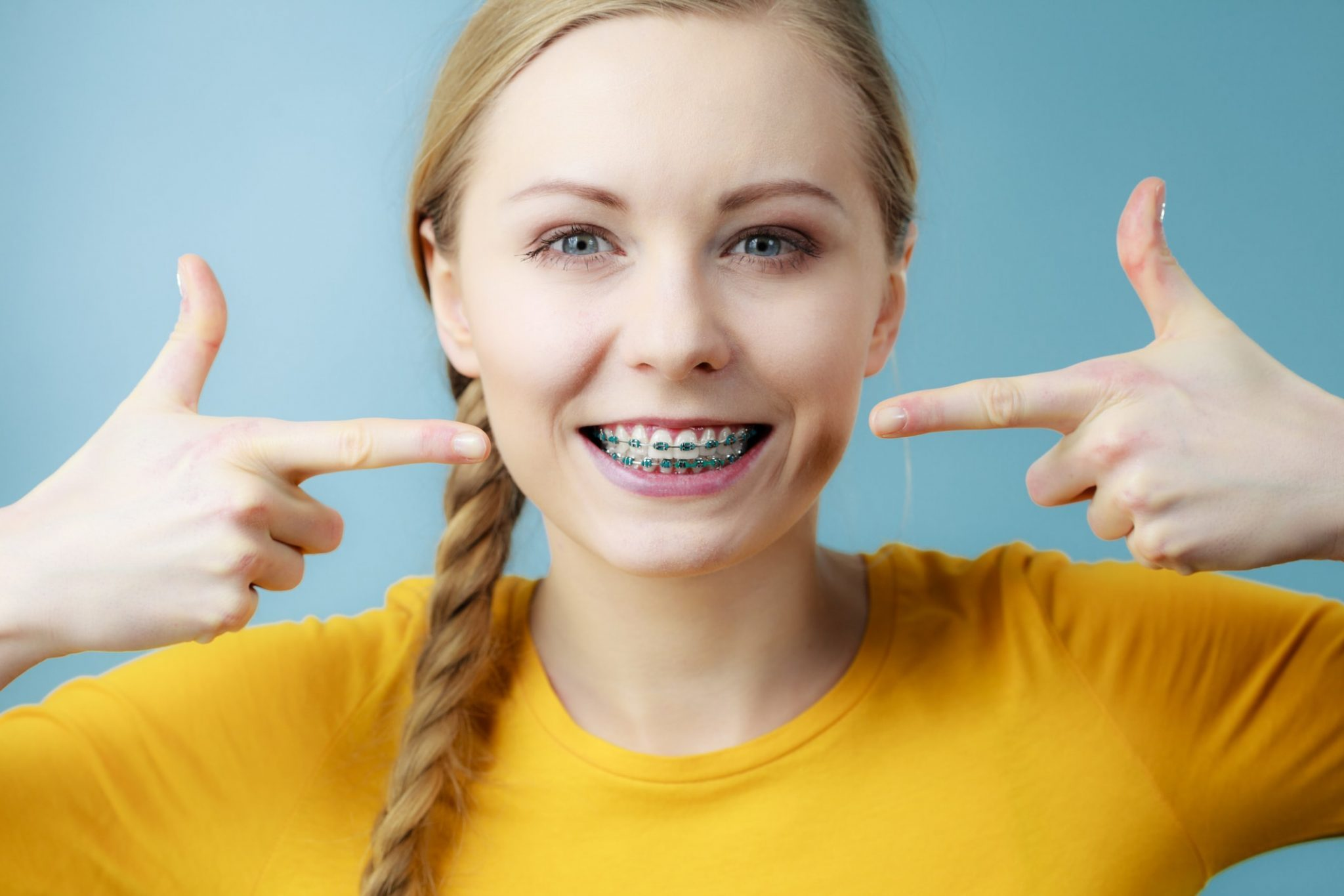 Blue Braces How To Pick The Right Colors For Your Braces Blue