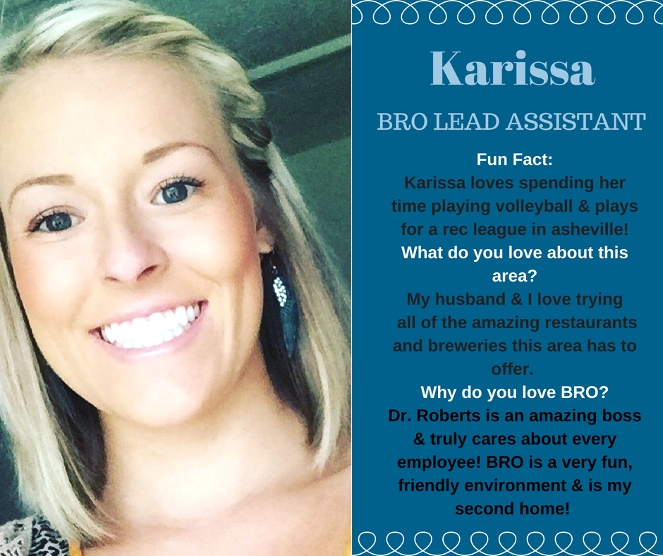 Image of Karissa, BRO lead assistant in Asheville