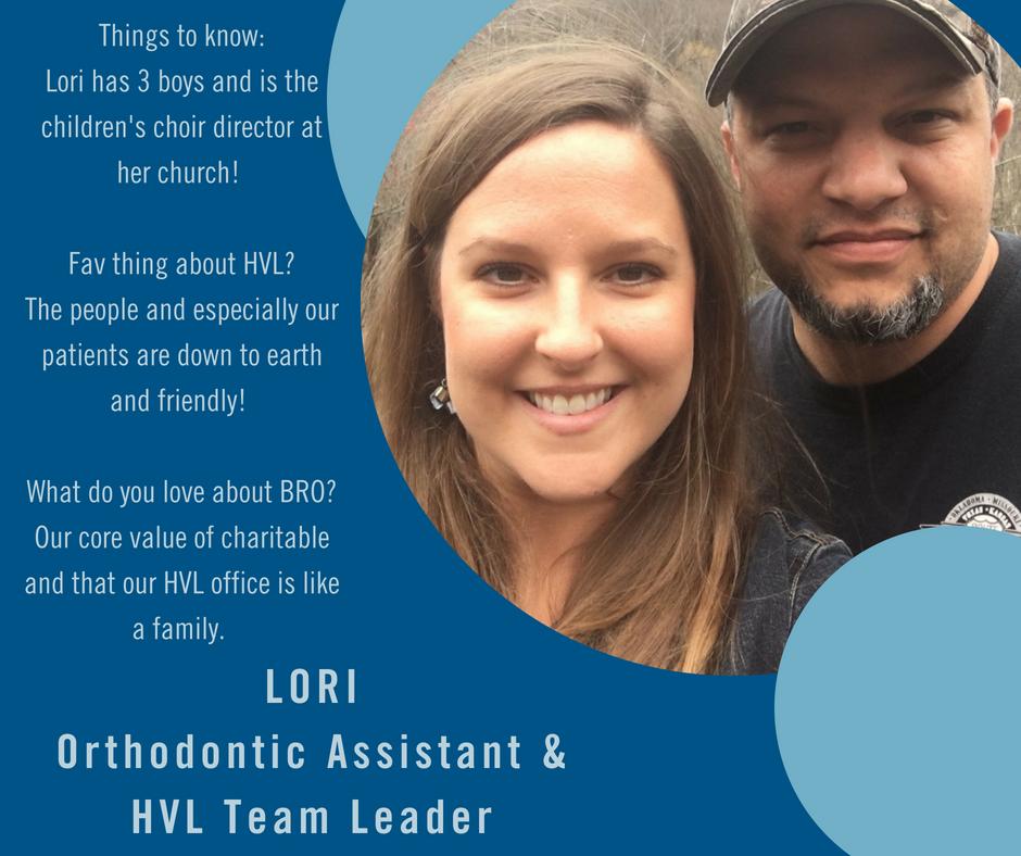 Image of Lori, the team leader at Blue Ridge Orthodontics in Asheville