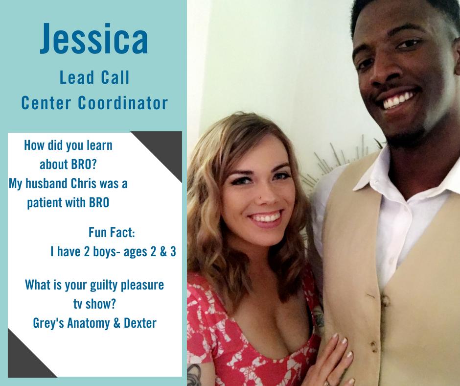 Jessica is a lead call center coordinator at Blue Ridge Orthodontics