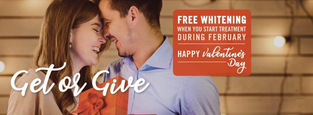Couple enjoy gift of free teeth whitening in Western North Carolina