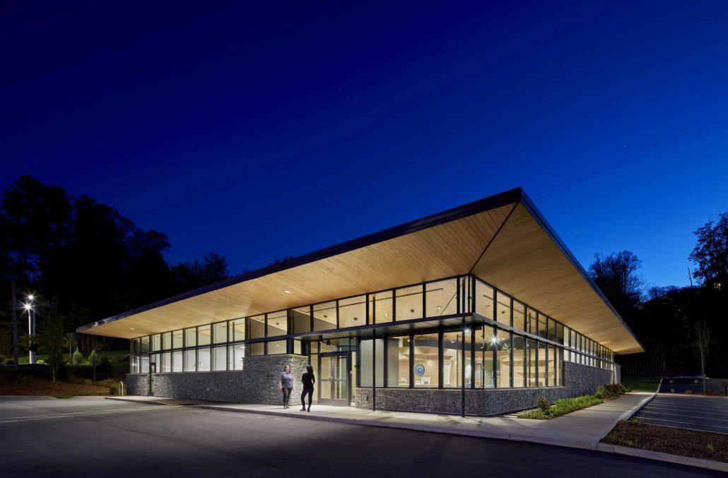 Headquarters for Blue Ridge Orthodontics in Asheville