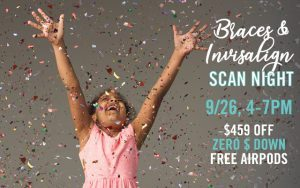 Save $459 on Invisalign or braces