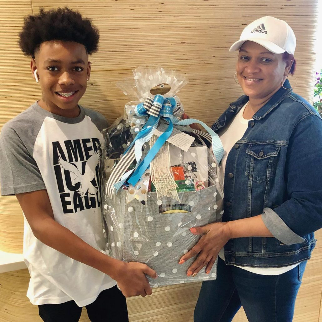 Family wins back to school bundle from Blue Ridge Orthodontics