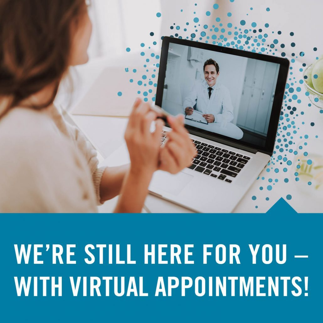 quarantine virtual appointments with an orthodontist