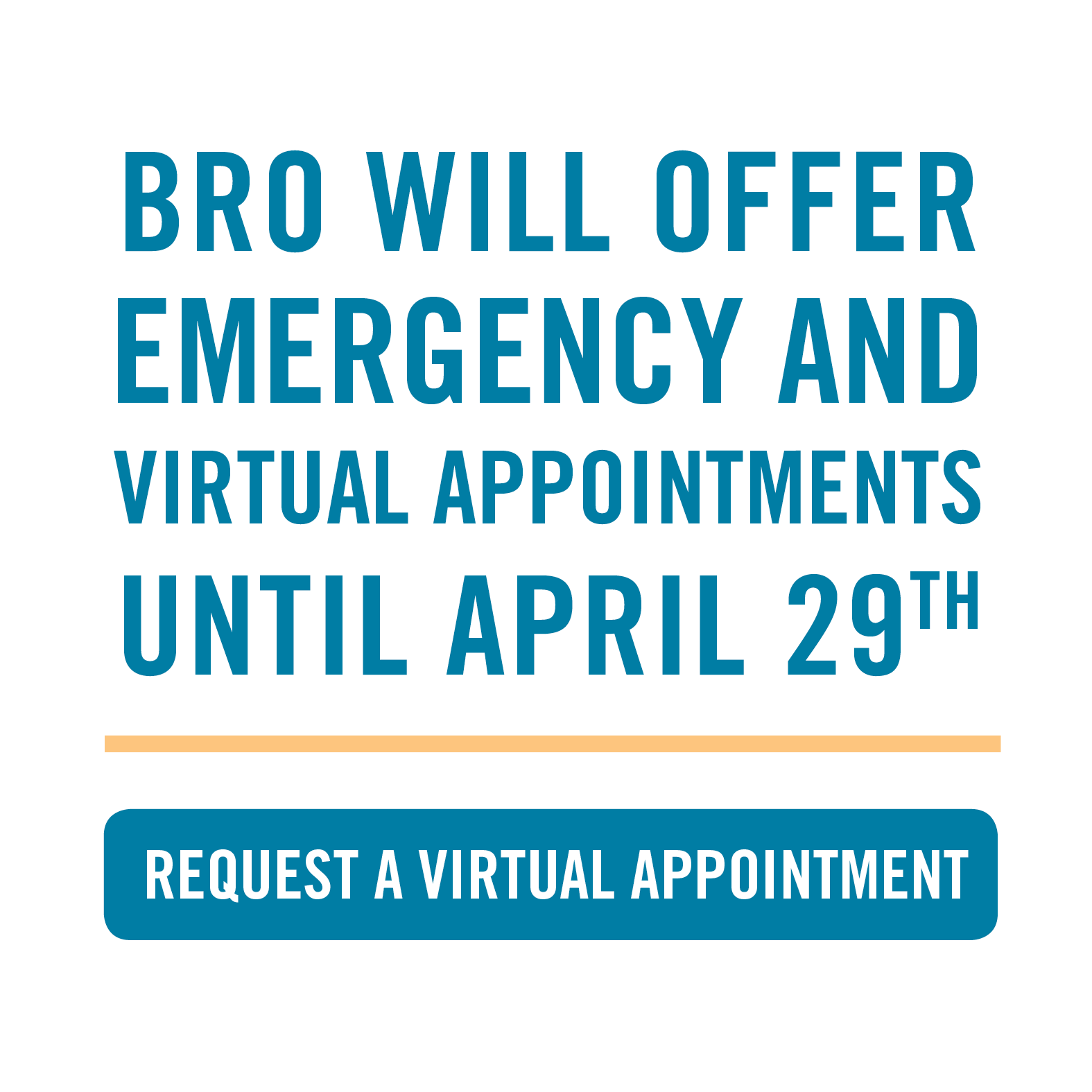 Asheville orthodontist will offer emergency and virtual appointments until April 29th