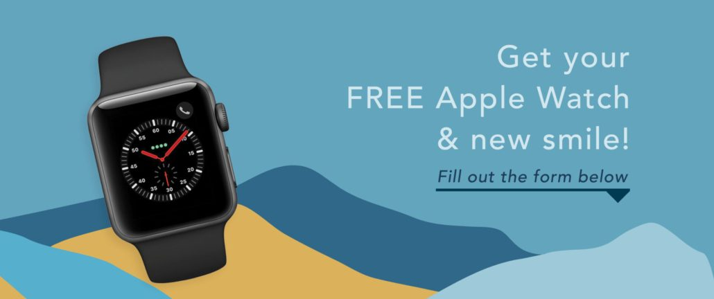 Get a FREE Apple Watch when you start braces, Impressions, or Invisalign during October at Blue Ridge Orthodontics Asheville, NC